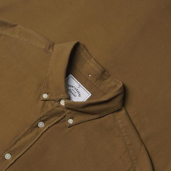 Portuguese Flannel Belavista Shirt - Olive