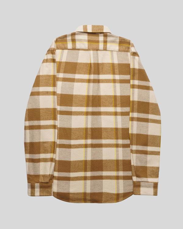 Portuguese Flannel Bonefire Shirt - Camel/Mustard