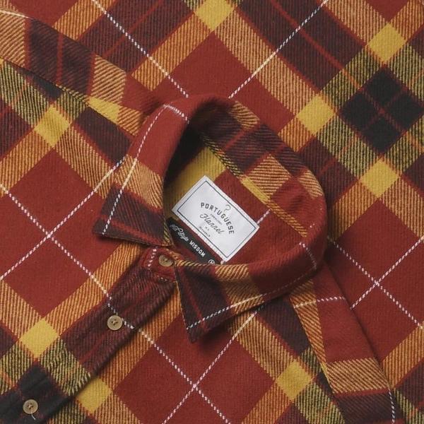 PORTUGUESE FLANNEL Baviera Check Shirt - multi
