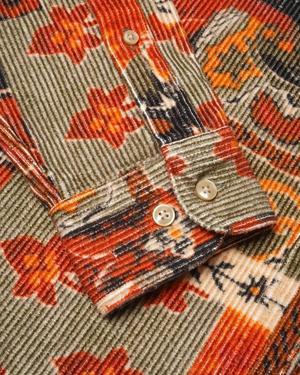 PORTUGUESE FLANNEL Fall Shades Corduroy Shirt - multi