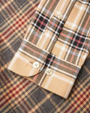 PORTUGUESE FLANNEL FDC Patch Work Shirt - multi