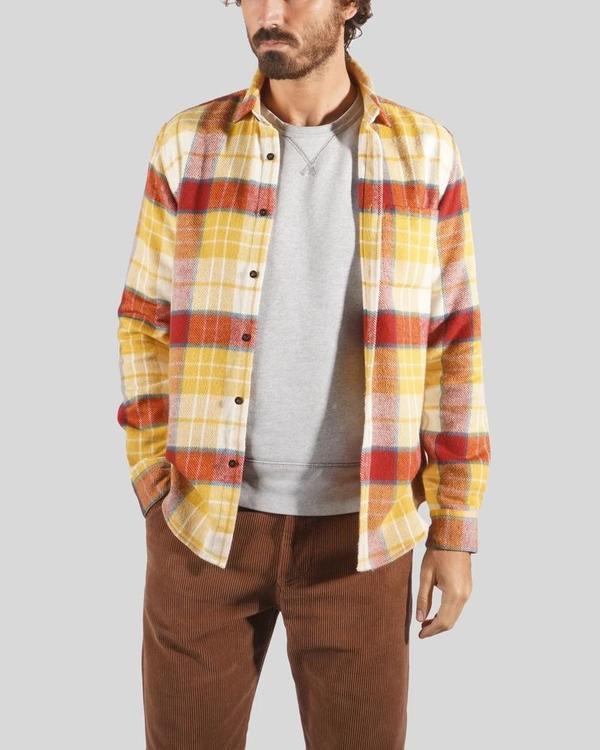 PORTUGUESE FLANNEL Happy Check Check Shirt - multi