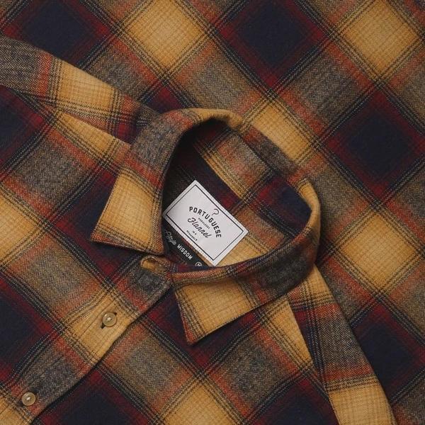 PORTUGUESE FLANNEL Hill Shirt - multi