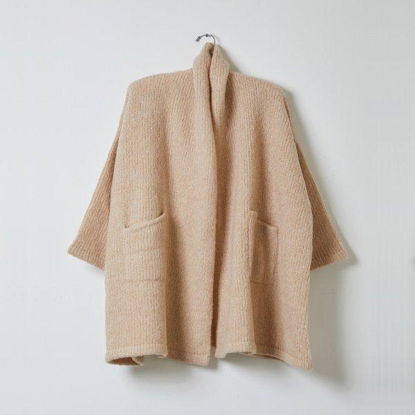 Atelier Delphine Alpaca Haori Coat