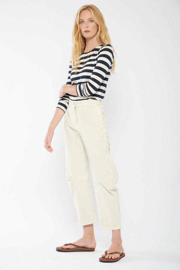 Nili Lotan Long Sleeve Shirt - DARK NAVY STRIPE