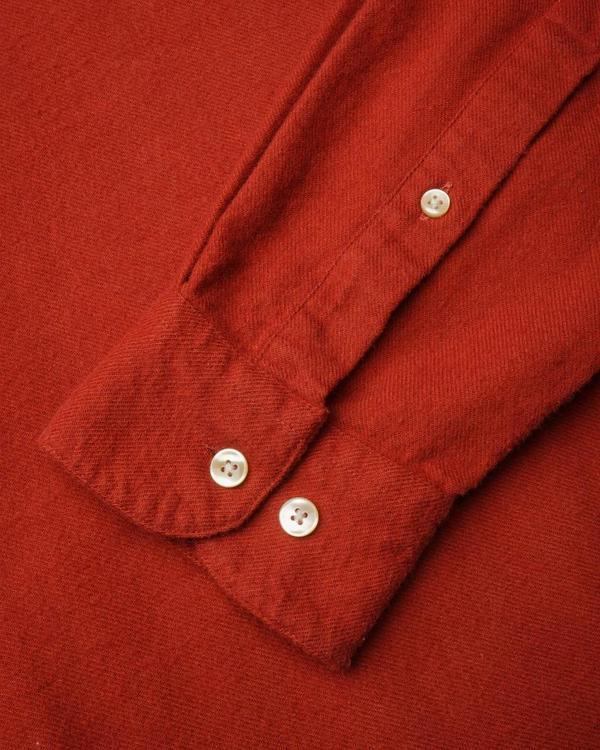 Portuguese Flannel Teca Shirt - Merlot