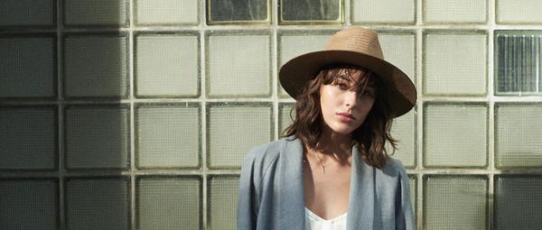 0765df8921716 Janessa Leone Brown Adriana Packable Short Brimmed Fedora Hat ...