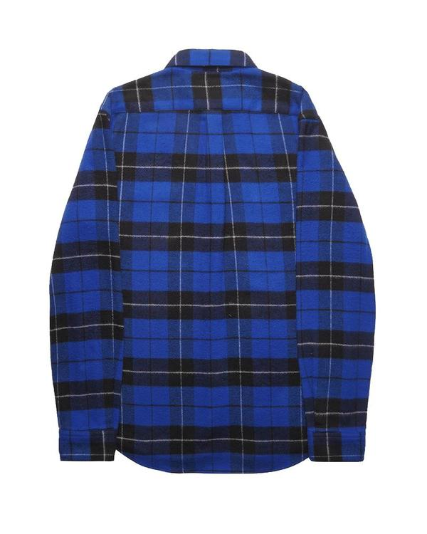 Portuguese Flannel COLORADO TOP - BLUE