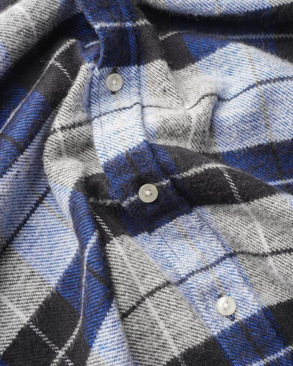 Portuguese Flannel NEBRASKA TOP - FROSTY BLUE