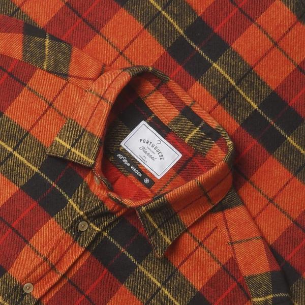 Portuguese Flannel NEBRASKA TOP - GRAPEFRUIT