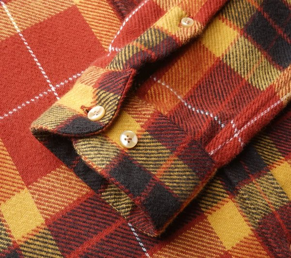 Portuguese Flannel Baviera Check Flannel Shirt