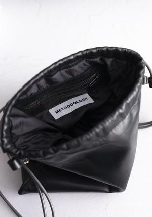 Methodology Large Pea Bag - Black/Grey
