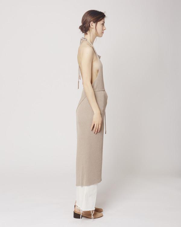 66daccf1652 Baserange Knit apron dress libra. sold out
