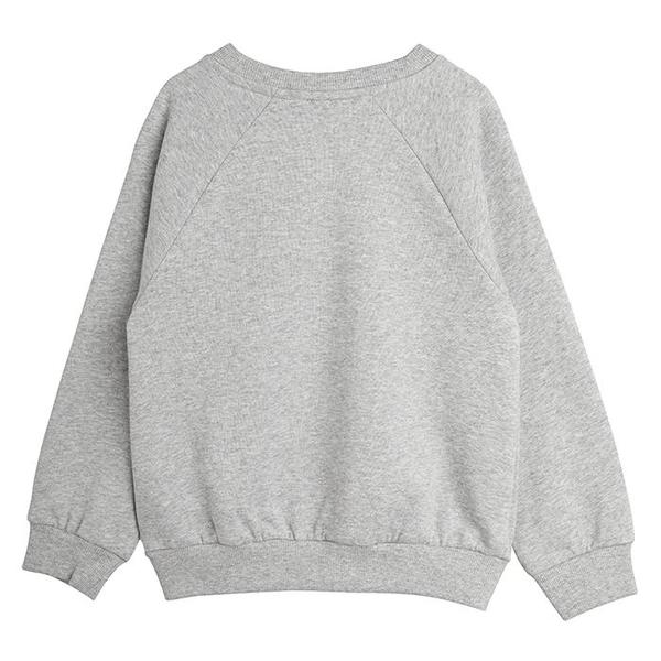 Kids Mini Rodini Child Beaver Hike Sweatshirt - Grey Melange