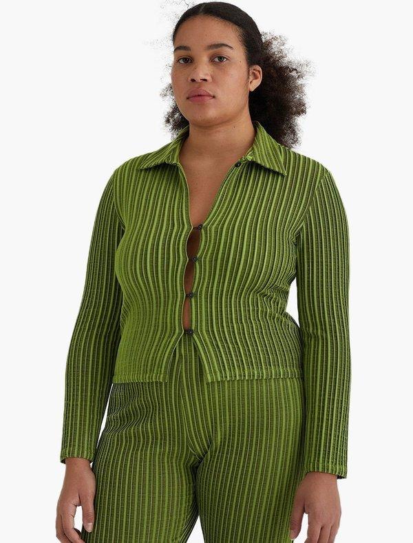 Paloma Wool Cenit Top - Medium Green