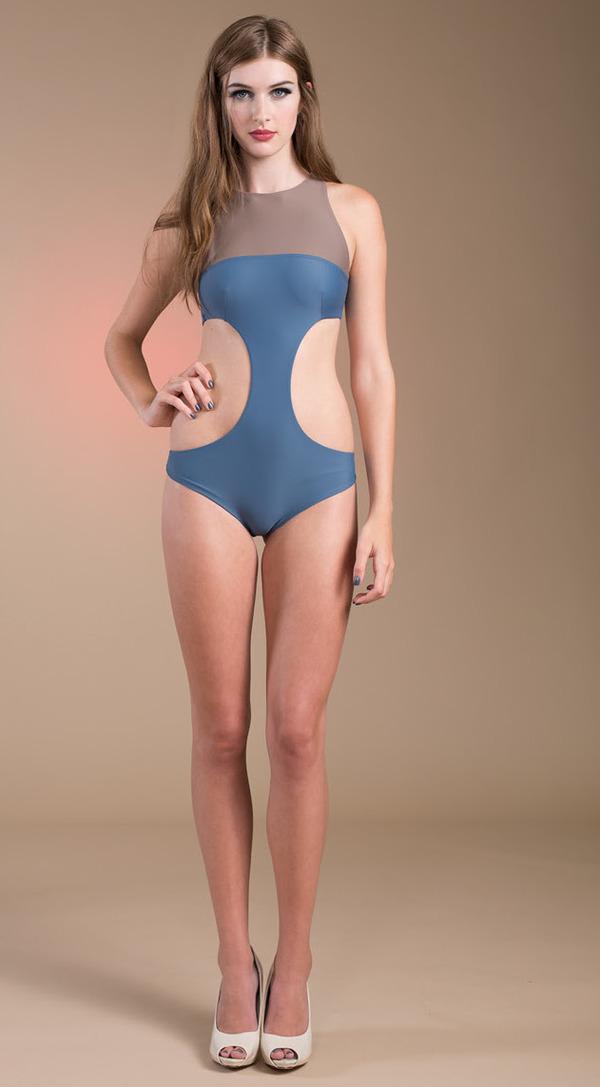 Cuche Argo Cut Out Swim Suit
