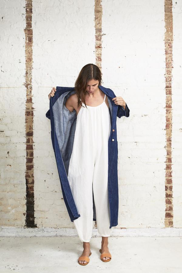 Off Season NYC 001 Work Coat Washed Indigo