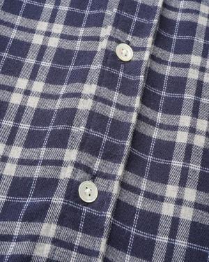 Portuguese Flannel Apotec Shirt - Navy