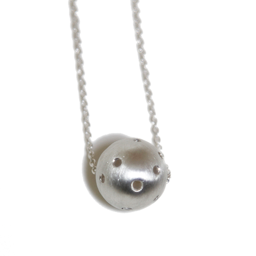 The Angry Weather : Meteorite Necklace