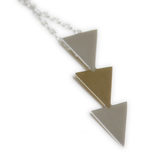 The Angry Weather : Triangle Necklace