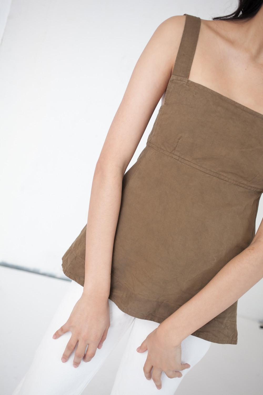 caron callahan flora top in camel canvas garmentory. Black Bedroom Furniture Sets. Home Design Ideas