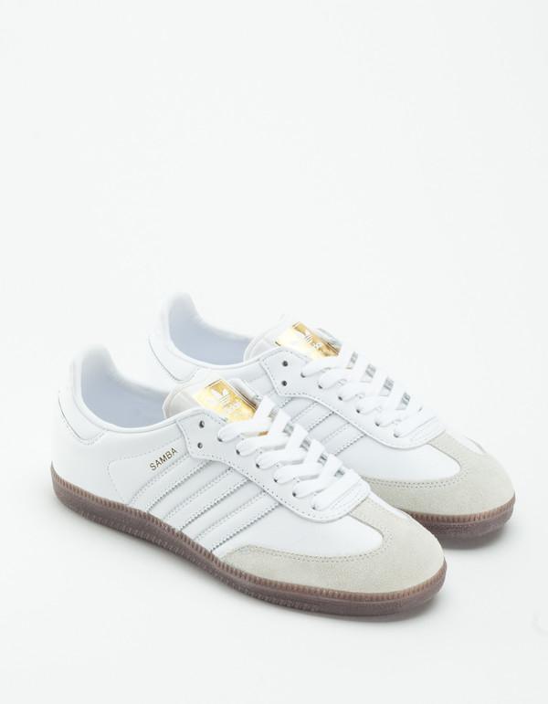 adidas samba og white gum garmentory