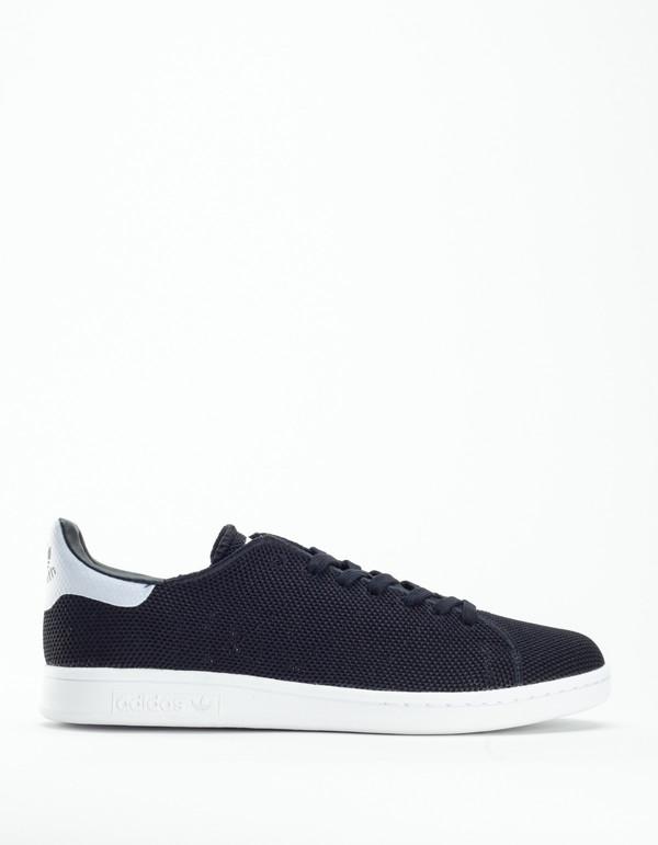 adidas Stan Smith Knit Core Black White on Garmentory