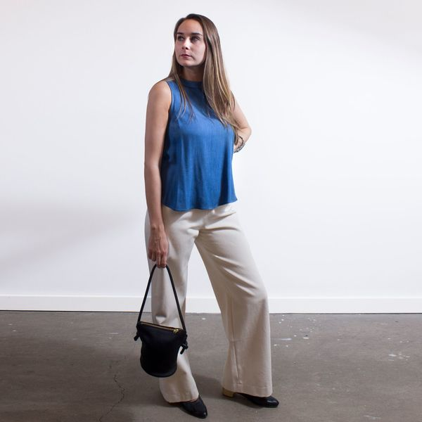 Sunja Link 'Natural pants'