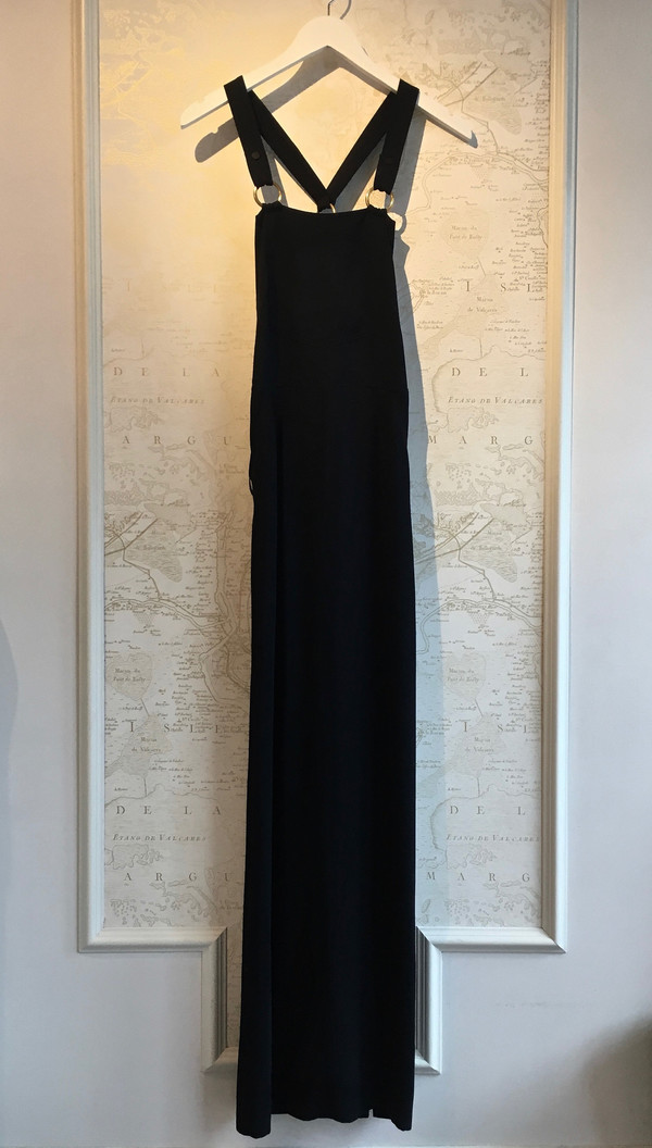 Alc Campos Overall Long Dress With Back Pockets Garmentory