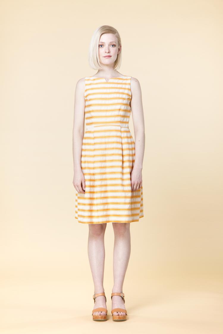 amanda moss tangerine dress garmentory