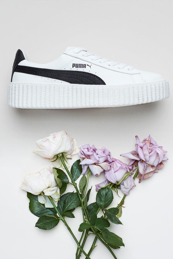 new york 7a566 bd864 PUMA Rihanna Fenty Creeper- White/Black on Garmentory