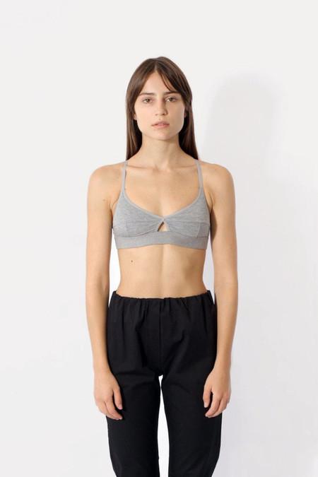 Baserange Soft Bra - Heathered Grey