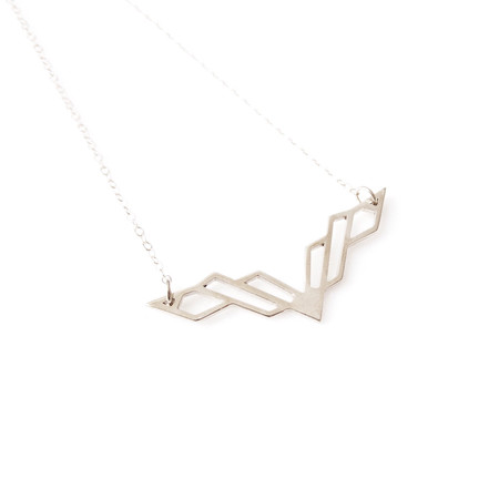 Matters of Delight - Volo Necklace Silver