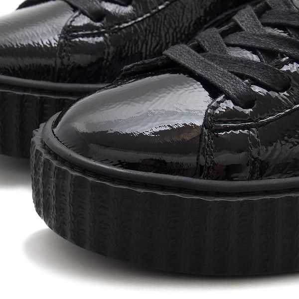cheap for discount 8db6b 7ac13 Puma Fenty Creeper Cracked Leather - Black