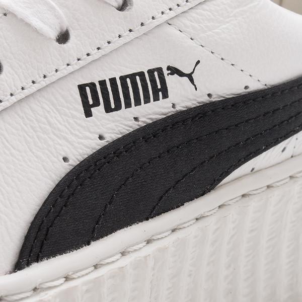sports shoes e7318 fc583 Deadstock.ca PUMA FENTY CREEPER CRACKED LEATHER / WHITE