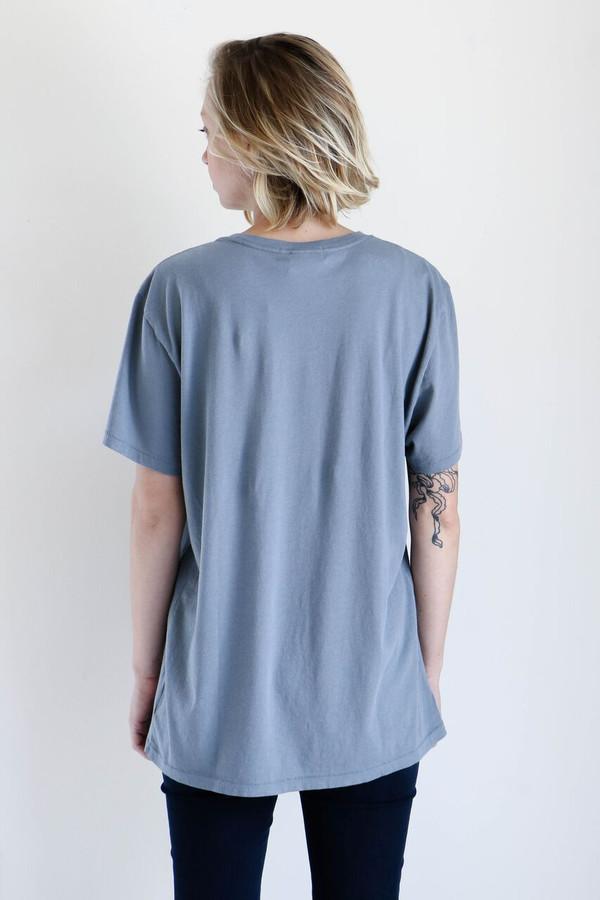 unisex correll correll spiral t shirt in ocean garmentory