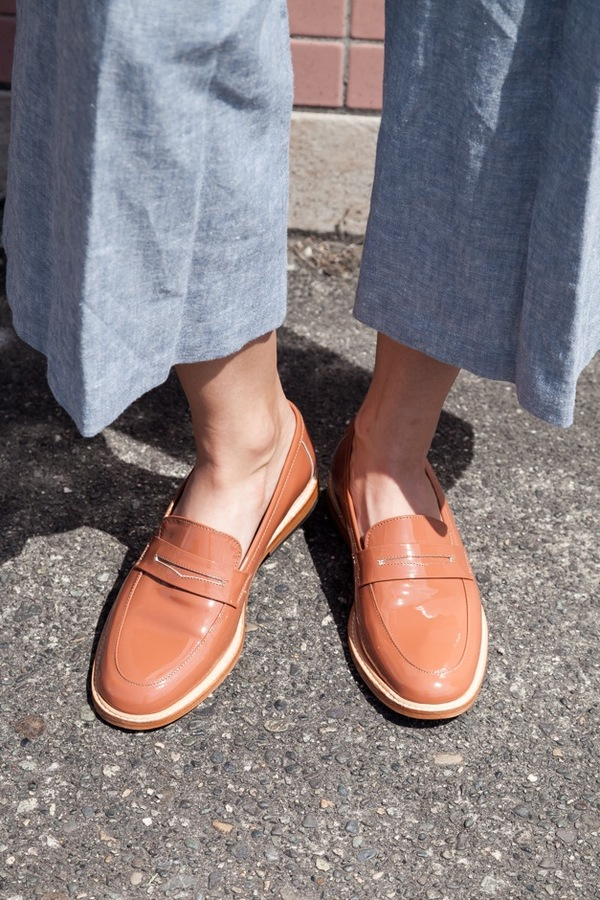 Dieppa Restrepo Leather Penny Loafers discount prices discount shop for free shipping for cheap o0q7i30M