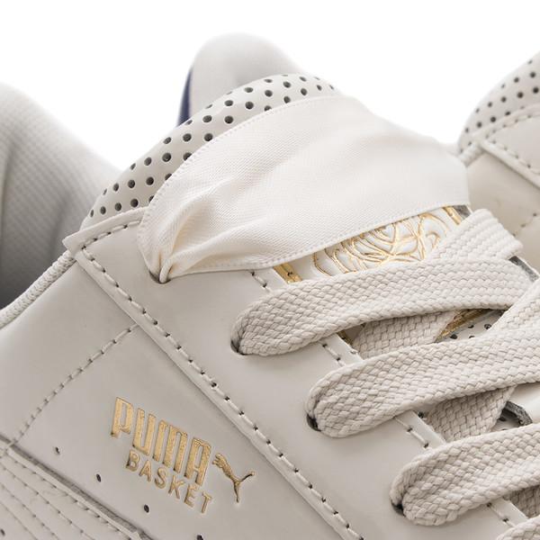 White Careaux X Whisper Basket Puma A4L35jR