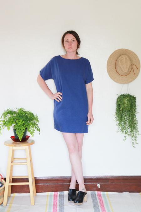 Me & Arrow Sleeve Dress - Morning Glory Blue
