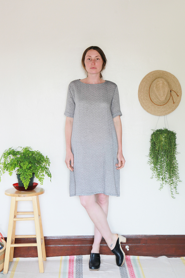 Me & Arrow Tall Dress - Dot Gauze