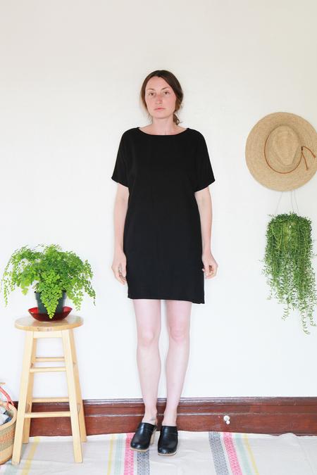 Me & Arrow Sleeve Dress - Black