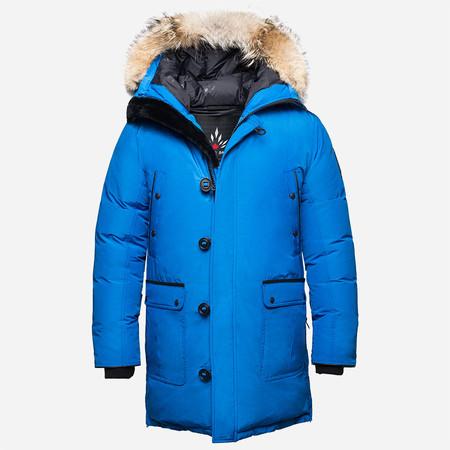 Arctic Bay Alaska Long Parka - Royal Blue