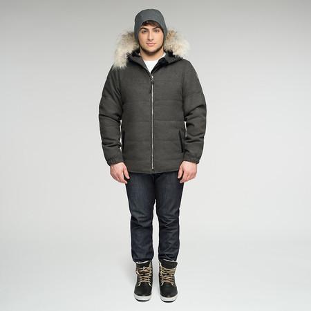 Arctic Bay Cambridge Mid-Weight Parka - Black