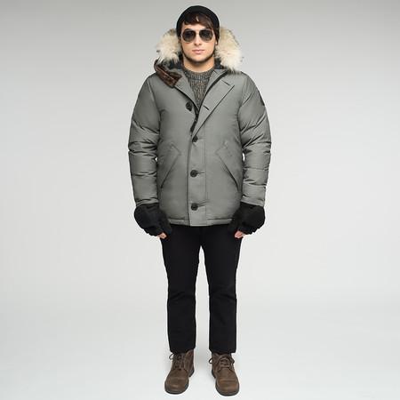 Arctic Bay Toronto City Parka - Steel Grey