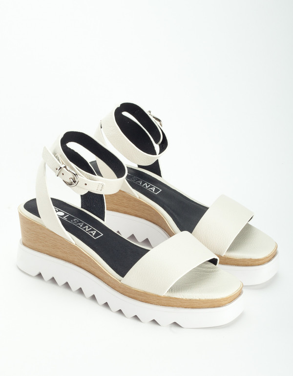 a03c6e52eaff Sol Sana Tray Wedge White. sold out. Sol Sana