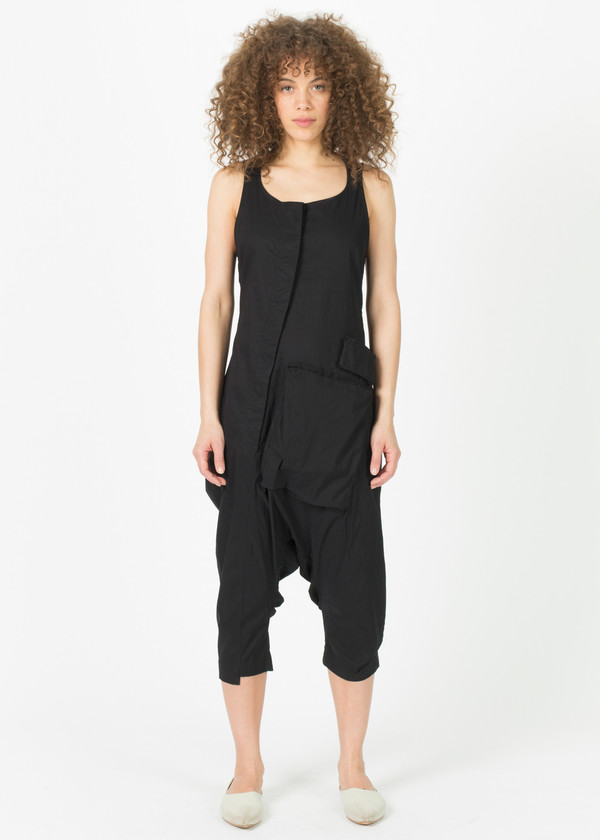1fc2ae392d3 Rundholz Asymmetric Button-Down Sleeveless Jumpsuit. sold out