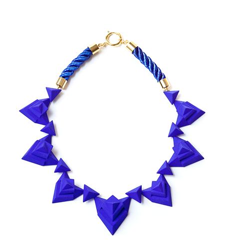 Ebony Fleur Mineralize Statement Necklace