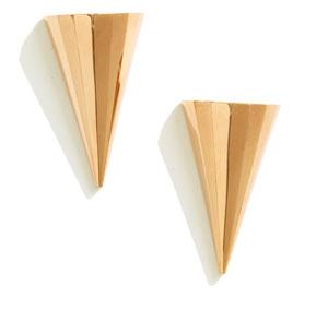 Sarah Magid Faceted Cone Stud Earrings