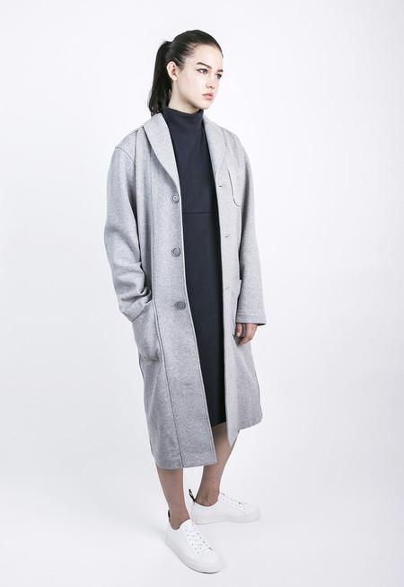Unisex Wisdom Apparel Tailored Top Coat - Grey