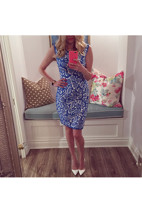 Ohne Titel Leopard-Print Reversible Knit Dress